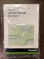 "Kawasaki Mule Pro-Fxtâ""¢ Service Manual - Fits 2015 - 2020 - Genuine Kawasaki (Fits: Kawasaki)"