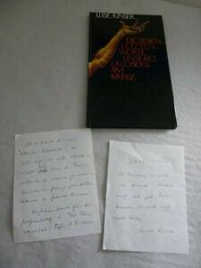 Luise Rinser: Die sieben letzten Worte... mit Signatur und zwei handschriftliche