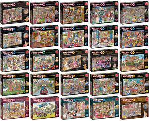 Wasgij Jigsaw Puzzles 1000 Piece Premium Quality Comedic Cartoon Jigsaw