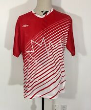 Canada Soccer Jersey L 1996 1997 Umbro Red Shirt Reproduction