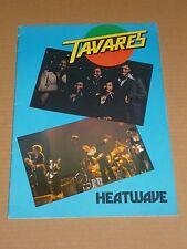 Tavares/Heatwave/Geno Washington 1976 UK Tour Programme