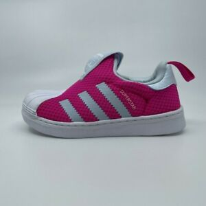 Adidas Girls Trainers Size 3 4 5 6 7 8 9 Baby 👟 GENUINE Superstar 360™ Infant