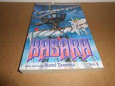 Basara Vol. 3 by Yumi Tamura Viz Manga Book in English