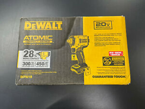 DEWALT DCF921B 20V MAX BRUSHLESS ATOMIC COMPACT SERIES TOOL ONLY NEW!