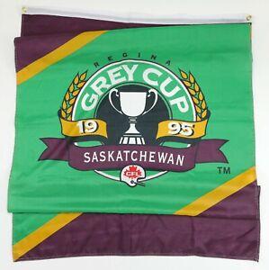 1995 CFL Grey Cup Regina Saskatchewan Canadian Football League Street Banner
