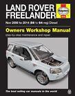 Land Rover Freelander 2 Diesel Nov 2006 - 2014 Haynes Manual 5636 NEW