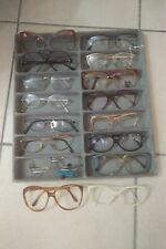 Lot Vintage sunglasses Eyeglasses 80s 90s Job lot Stock Brille Lunette