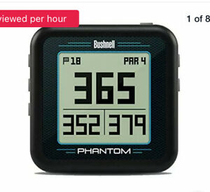 Bushnell Phantom Convenient Golf  Black GPS with Bite Magnetic Mount