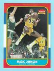 1986-87 Fleer #53 Magic Johnson, Los Angeles Lakers, Nicely Centered!