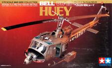 Tamiya 60722 1/72 Scale Model Military Helicopter Kit U.S Army Bell UH-1B Huey