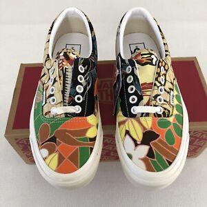 Vans Anaheim Factory Era 95 Dx Hoffman Fabrics Tropical Hawaiian Women's 8.5 M 7