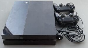 PS4 Console And 2 Controllers