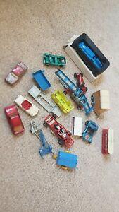 VINTAGE diecast vehicles matchbox corgi majorette bundle JOB LOT