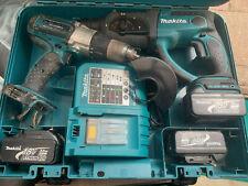 Makita 18V Cordless Combo Kit Twin BHR202 SDS Hammer Drill/BHP451 Impact Driver