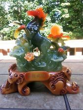 """16""""H  Chinses Lucky Money Wealth Horse Statue"""