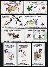 Korea Süd 1994 Markenhefte (9) Jahrgang komplett UPU Philakorea MNH M€ 295