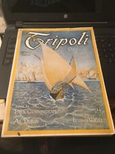 Vtg Sheet Music: Tripoli ( On the shores of Tripoli) 1920