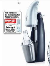 "Design ""Soda Stream"" Wassersprudler Penguin+3 Glaskaraffen+Kohlensäure-Zylinder"