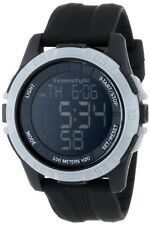 101983 FREESTYLE Kampus XL Men's Sport Digital Watch Black Silicone Strap big