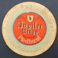 Ancien Sous-bock bière JUPILER Piedboeuf beermat coaster Bierdeckel 13