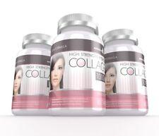 Colágeno Hidrolizado De Alta Resistencia 1000mg para cabello piel y uñas 180 comprimidos