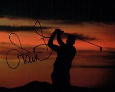 Ian POULTER SIGNED Autograph 10x8 Sunset Photo AFTAL COA GOLF