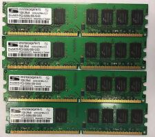 4GB 4X 1GB PC2-5300 667 Mhz Desktop Memory DDR2 RAM Non-ECC DIMM HP Dell Lenovo
