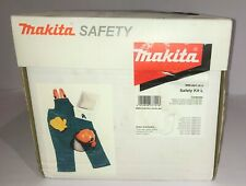 Makita Chainsaw Safety Kit Size L inc Trousers, Helmet, Gloves - Brand New Boxed