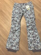 Burton Dryride White Collection Honey Buns Pant XL    New With Tags   $260