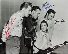 Million Dollar Quartet Autographed 8x10 Signed Photo Reprint