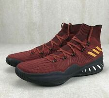 Adidas Justise Winslow Crazy Explosive Pe Heat Basketball Shoes Red Ah2368 Sz14