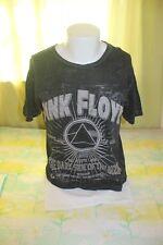 Pink Floyd Dark Side of the Moon Distressed Men's Black T Shirt Size Medium
