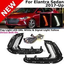 For Hyundai Elantra 17-18 AD Daytime Running Lamps LED Fog Lamp Turn Signal Assy