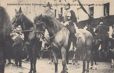 FOREIGN ROYALTY :1909 BELGIUM-Accession of KIng Albert -Duke of Connaught and ..