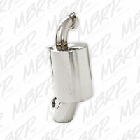 MBRP Stainless Steel Snowmobile Standard Silencer For 2010-2012 Polaris 600 Rush