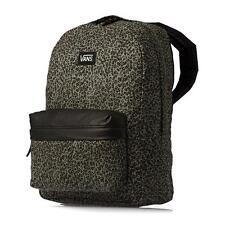 Vans Girls Off The Wall Deana II Backpack Womens Green Black Leopard New NWT