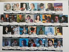 SPACE 1999 AUTOGRAPH CARD FULL SET OF 29 Autographs - All U See