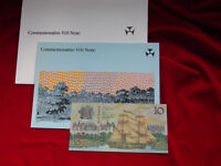 Australia. 1988 Bi-Centennial 10 Dollars. With Overprint.. In NPA Commem Folder