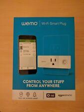 New Wemo Mini Smart Plug, Wi-Fi Enabled, Alexa & Google Assistant F7C063 FS
