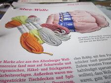 Das war die DDR Einkaufen Alwo Wolle