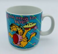 Enesco Garfield Odie Coffee Mug This one's for YOU! 1986