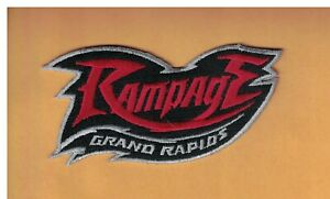 GRAND RAPIDS RAMPAGE ARENA FOOTBALL LEAGUE PATCH 4X2