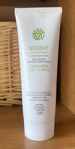 BN ( Sealed) NAOBAY Equilibria Gel To Milk Facial Cleanser 75ml