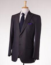 NWT $8495 BRIONI Peak Lapel Year-Round 100% Cashmere Suit 40 R Handmade