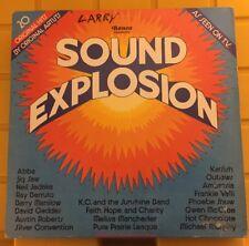 """Sound Explosion Ronco Soundtrack Album 1975 LP Vintage Vinyl Record 12"""""""