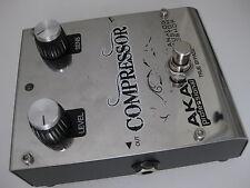 Akai Analog Custom Shop Pro Compressor Guitar Effect Pedal