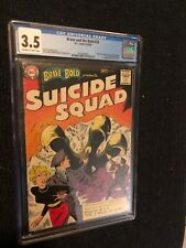 Brave and the Bold 25 1st App Suicide Squad DC 1959 CGC 3.5 Beautiful Key silver