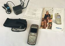 NOKIA 3595 cell phone T-Mobile Type NPM-10 in Orig Box w/ Charging Cord