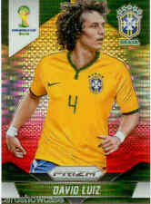 2014 World Cup Prizm Yellow Red Parallel No.106 D.LUIZ (BRAZIL)