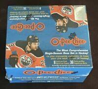2020-21 OPC O-Pee-Chee Hockey Trading Cards Factory Sealed Wax Box